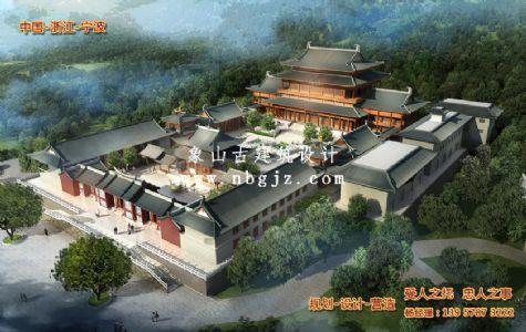 古建筑规划设计—江西广昌县慈生禅寺