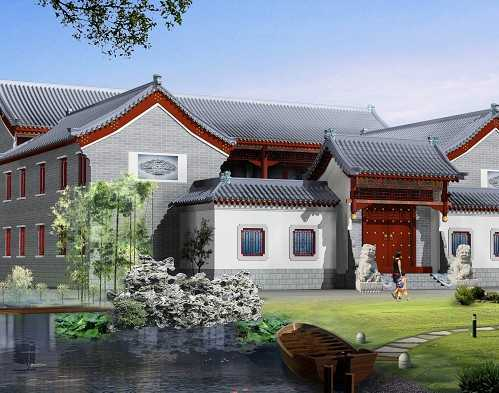 仿古建筑设计介绍及效果图设计
