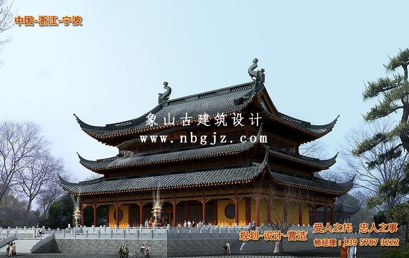 佛教寺庙大雄宝殿