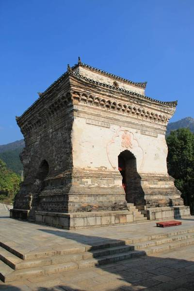 中国第一丛林寺庙建筑欣赏-湖北黄梅四祖寺