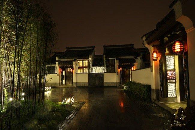 中国古建筑四合院风格设计建造的别墅