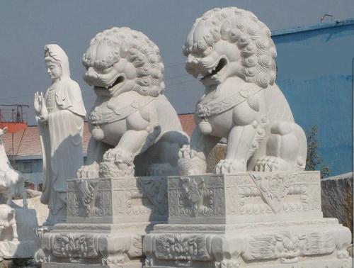 中国古建筑之石狮子