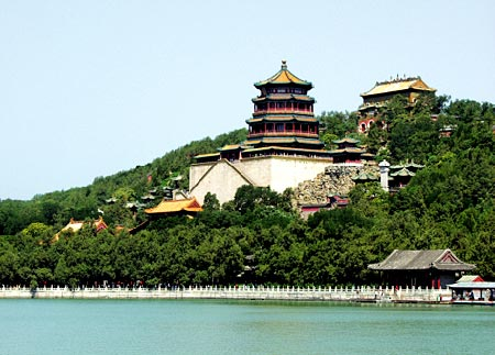 中国皇家古建园林之北京清漪园