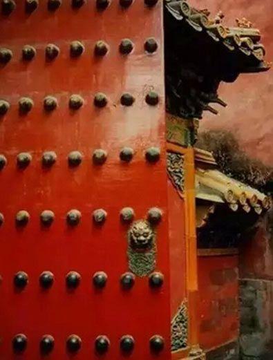 中式传统古建筑的门面装饰设计