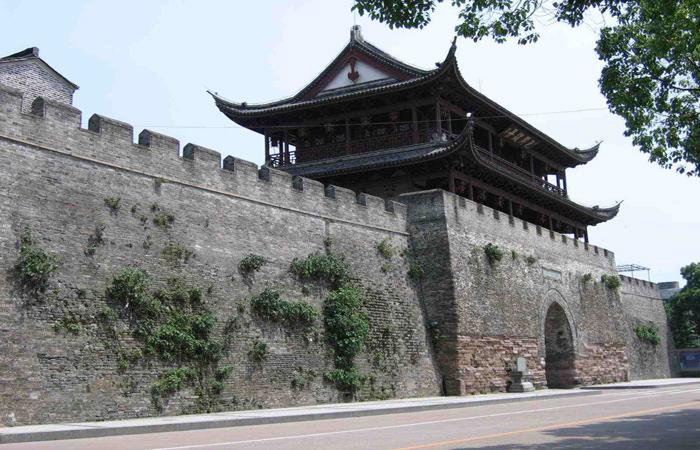 衢州古建筑景点之美丽的古城墙遗址欣赏