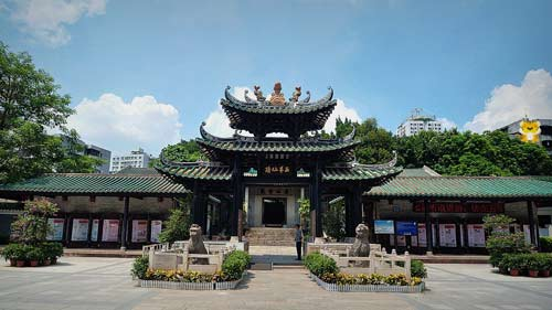 广州古建筑之五仙观欣赏