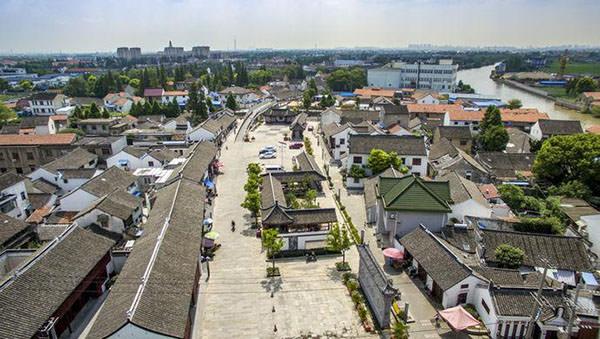 上海张堰镇保护古建筑打造特色文旅小镇