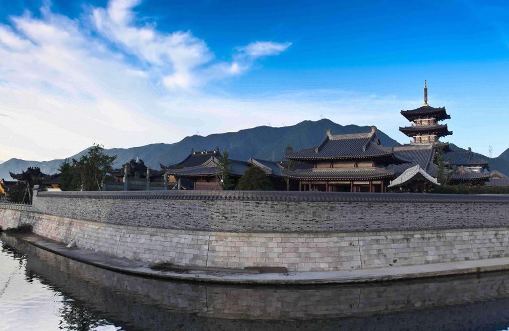 佛教寺庙规划设计方案及建筑布局详解