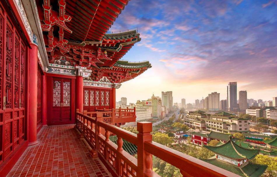 江西南昌十大古建筑旅游景点图片
