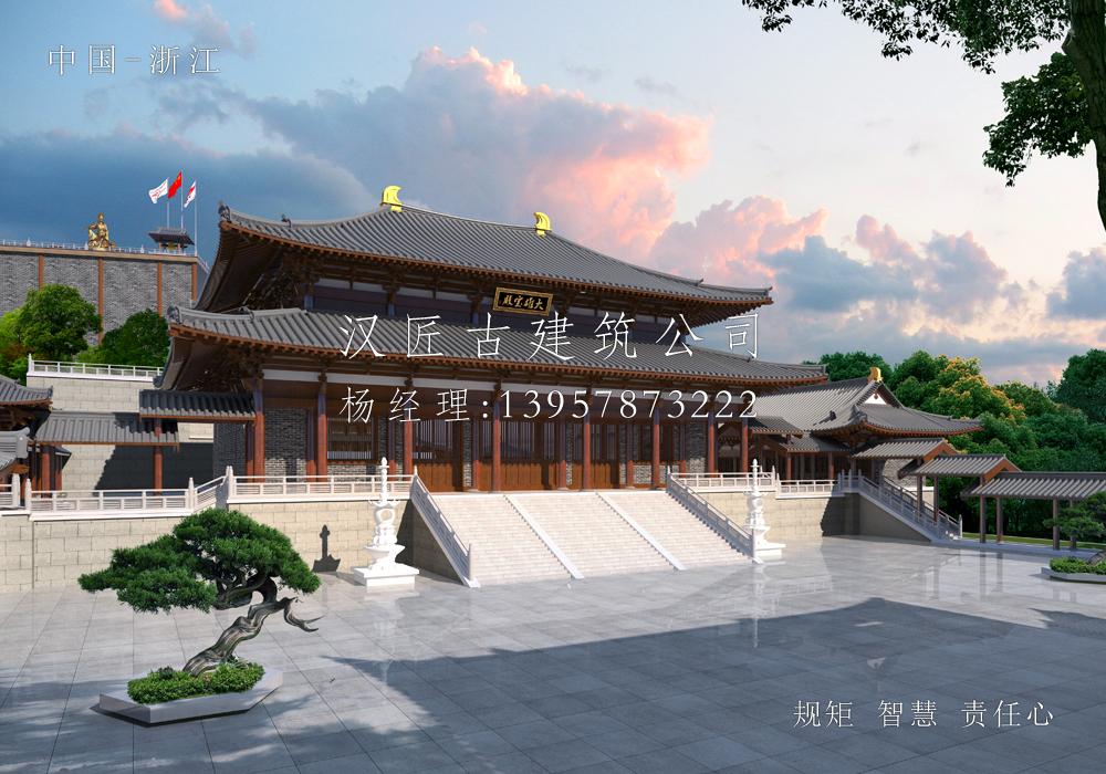 舟山高云禅寺扩建方案规划设计
