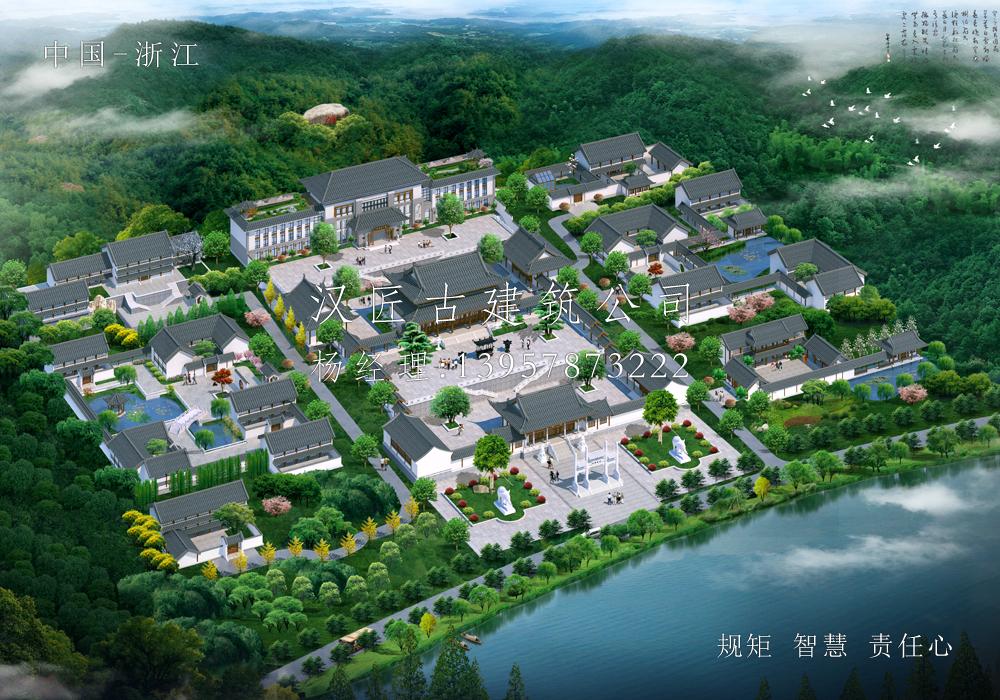 余姚东明寺建筑规划方案设计