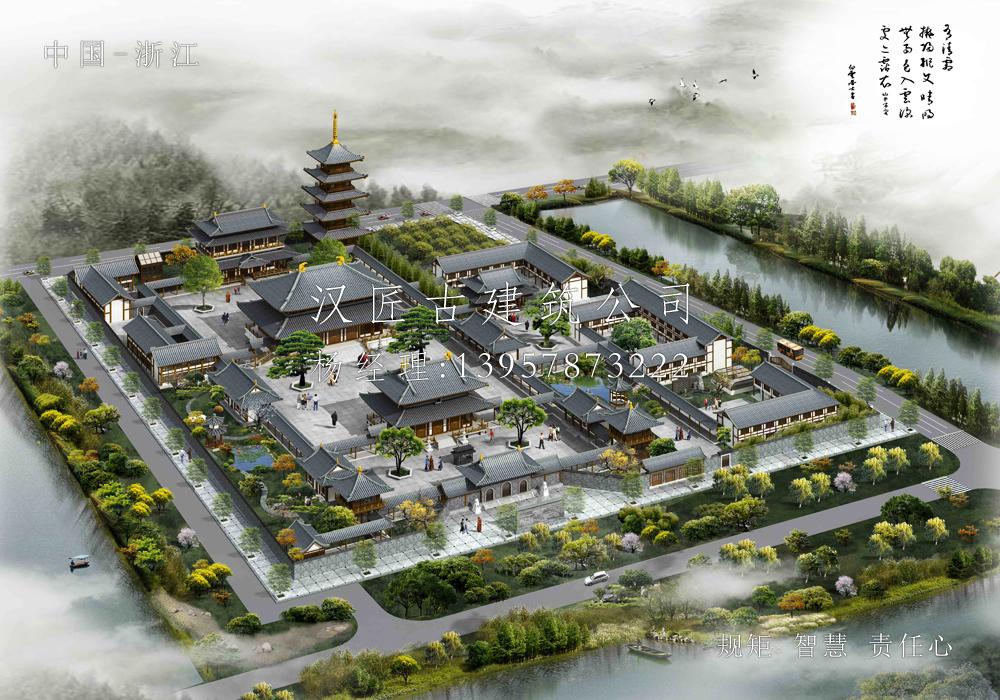 上海护国寺重建规划设计方案