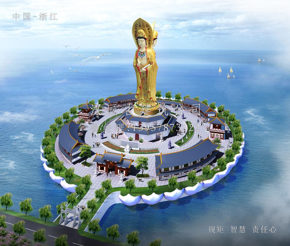 安徽颍上八里河景区观音广场设计.jpg