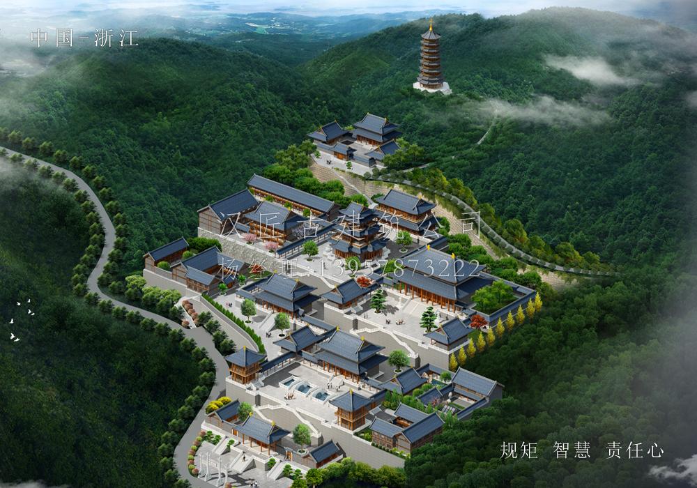 温州龙王寺重建总体规划