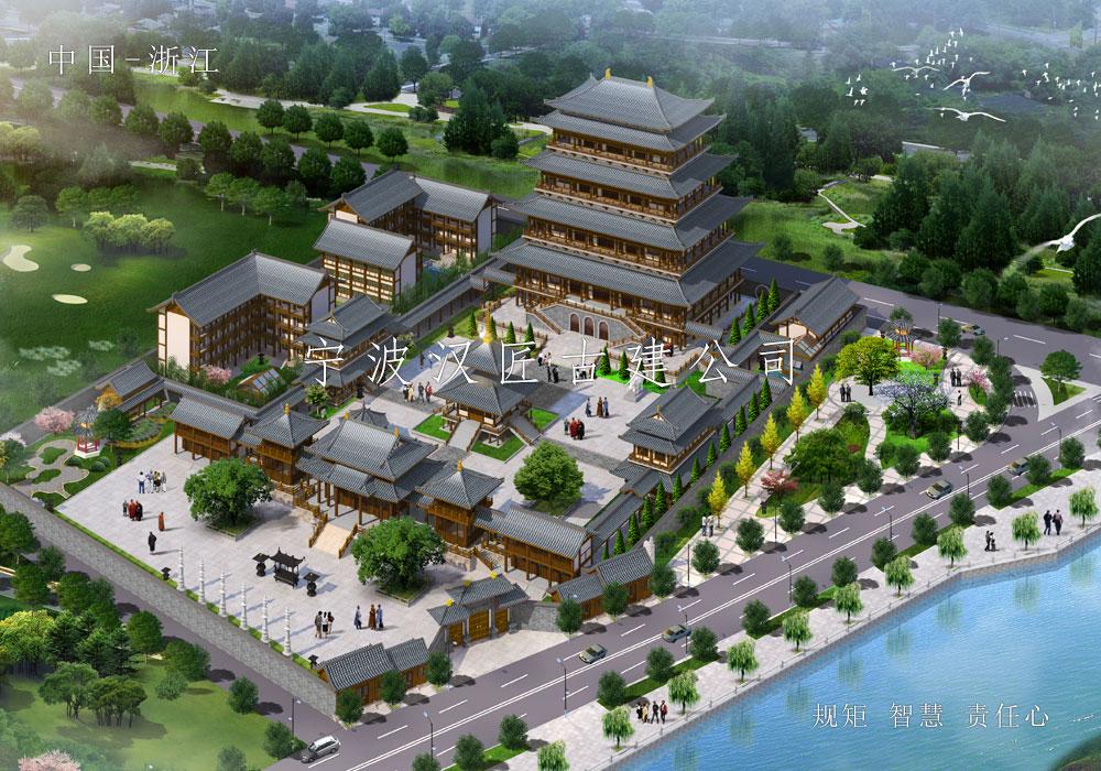 寺院改扩建规划设计施工-阳江石觉寺