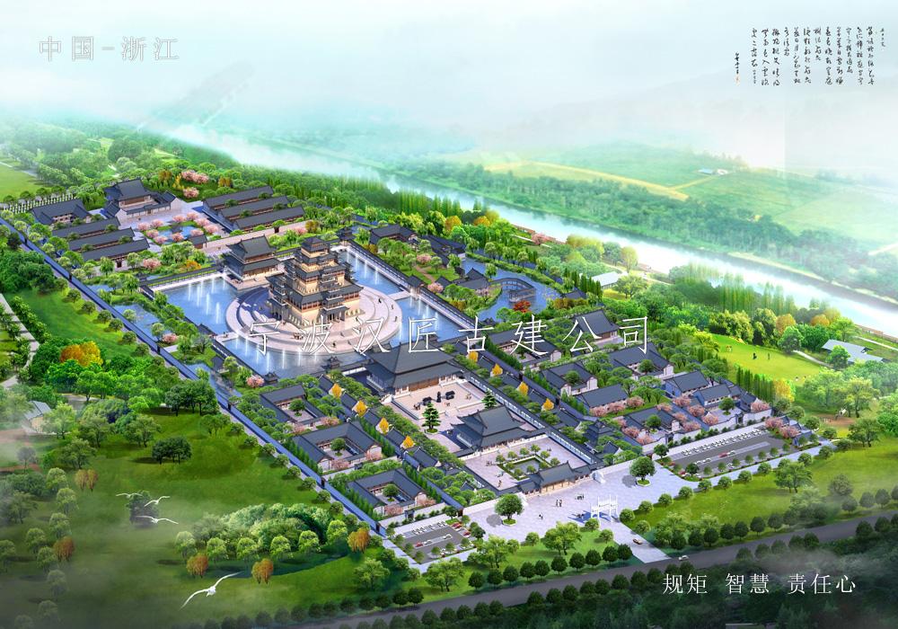 寺院古建筑总体规划设计方案